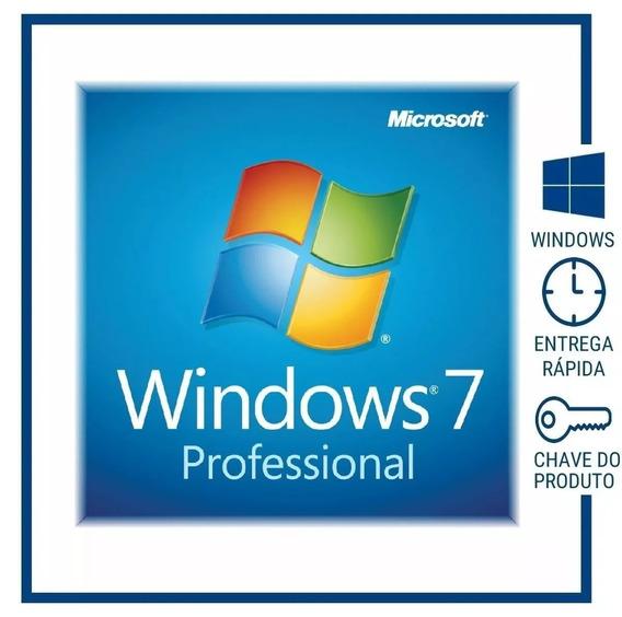 Windows 7 Professional Key 32/64 Bits Envio Rápido Email