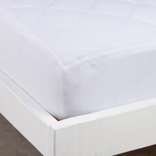Cubrecolchón Queen Size Matelaseado - Color Blanco