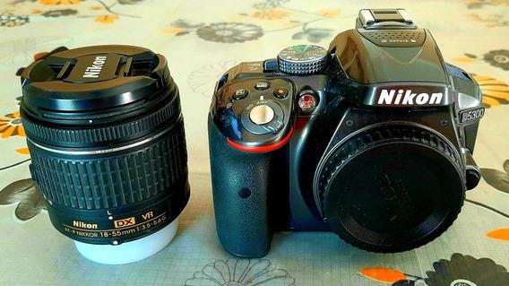 Cámara Nikon D5300- Kit 18-55 Mm