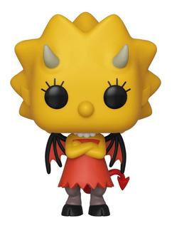 Funko Pop The Simpsons Horror Demon Lisa 821