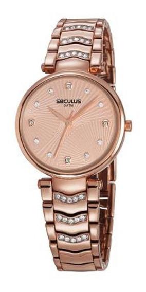 Relógio Seculus Feminino 13031lpsvrb3
