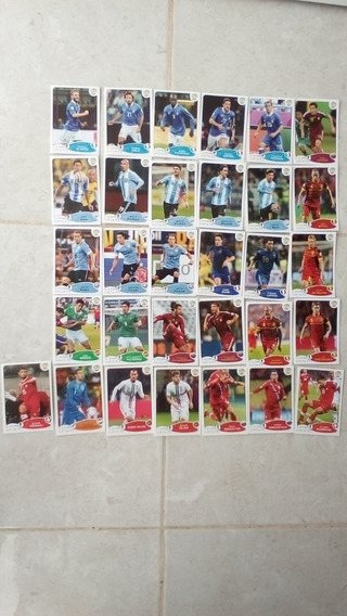 Lote Estampas Panini Road To Brasil 2014