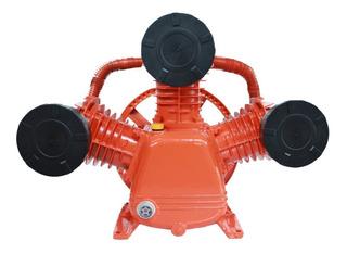 Cabezote Compresor Ap3090 3 Pistones De 90mm C/u 7hp 27cfm