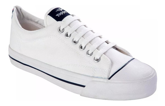 Zapatillas Profesional Topper Blanca Negra Azul Del 35 Al 45
