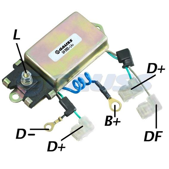 Regulador Voltagem 14v 55a Lucas