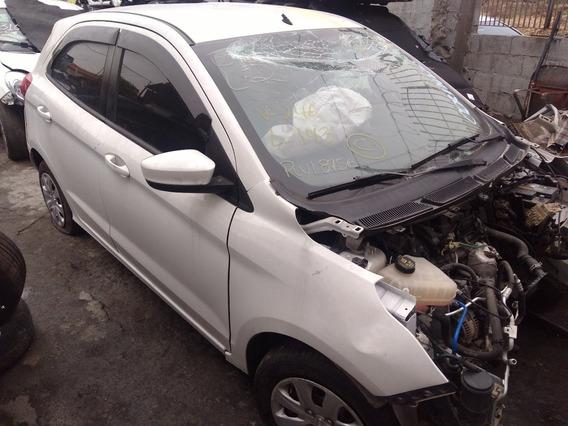 Sucata Ford Ka Se 1,0 12v 2015 Para Retirada De Peças