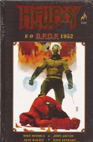 Hellboy E O B.p.d.p - 1952 (capa Dura)