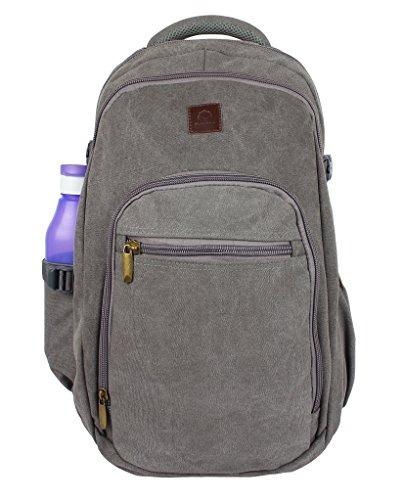 Rustico Town Canvas Backpack Senderismo Daypacks Ordenadores