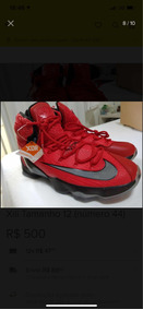 Tênis Nike Lebron 13 Original