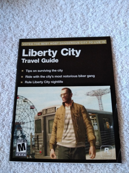 Manual Do Game Gta 4 Episodes From Liberty City Ps3 *** Leia