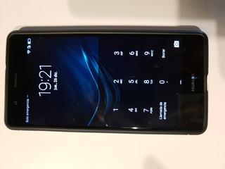 Celular Huawei Vns-l23, Con Funda Negra