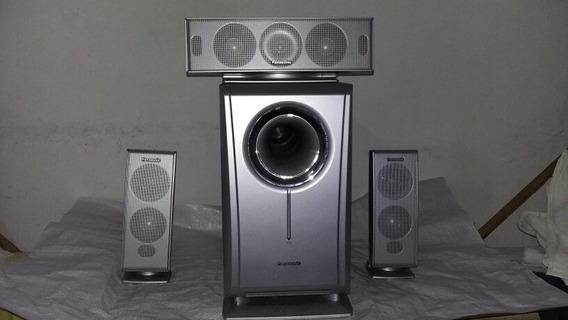 Home Theater Panasonic Modelo Sb-wa720.com 3 Caixas De Som