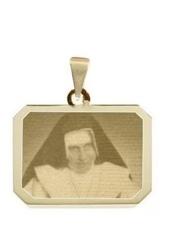 Pingente Folheado A Ouro Santa Irmã Dulce Saf35