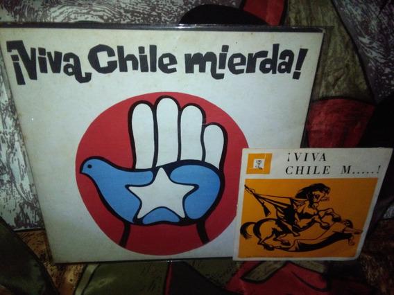 Viva Chile Mierda! Lp Vinilo Con Simple