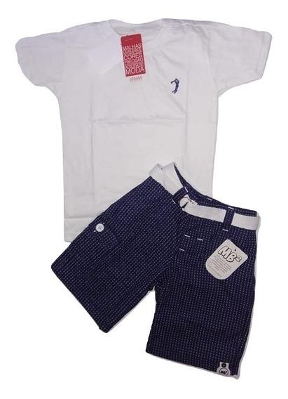 Conjunto Infantil Masculino Kit 4 Conjunto Infantil Menino Crianças De 4 Meses A 5 Anos