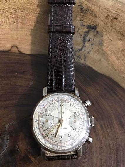 Relógio Delbana Chronômetro Landeron 48 Swiss Made