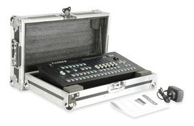 Mesa Controladora Dmx 512 Pilot 2000 Com Case Strobo