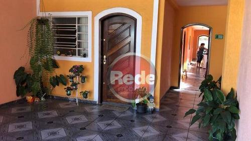 Imagem 1 de 16 de Casa Com 2 Dormitórios À Venda, 90 M² Por R$ 225.000,00 - Vila Rica - São José Dos Campos/sp - Ca4436