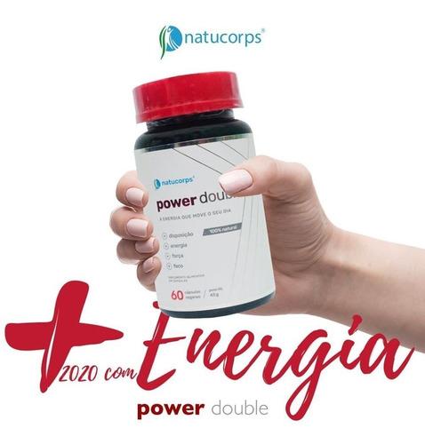Power Double Natucorps Ação Energizante
