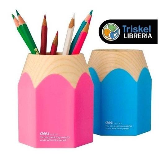 Porta Lapices Lapicero Deli Organixador Escritorio