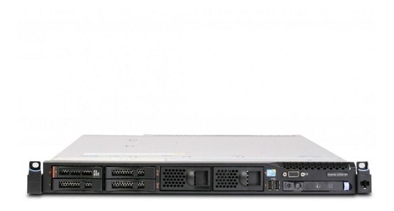 Servidor Ibm System X3550 M3 7944ac1 1x Intel Xeon E5620 Quadcore 2.4ghz 2gb Ddr3 Ram 4x Discos Rígidos 1tb +nota Fiscal
