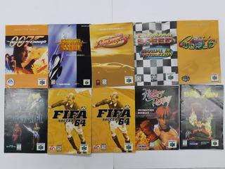 Manuales De Instrucciones Nintendo 64 - N64 Venta Por Unidad