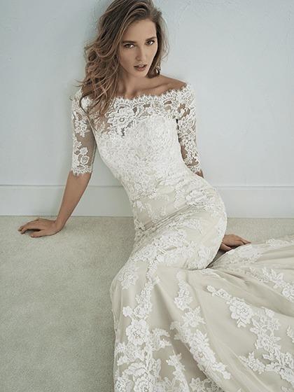 Hermoso Vestido De Novia Pronovias St Patrick Modelo Famosa