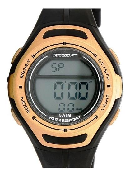 Relógio Speedo Digital Feminino Preto/dourado 80612l0evnp1