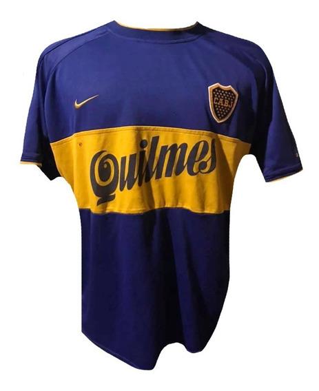 Camiseta De Boca Juniors 2000 Talle L #10 Riquelme Reliquia