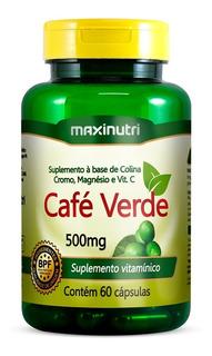 Café Verde 60 Cápsulas Maxinutri