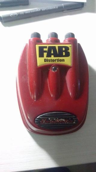 Pedal Danelectro Fab Distortion D01 Ac Trocas
