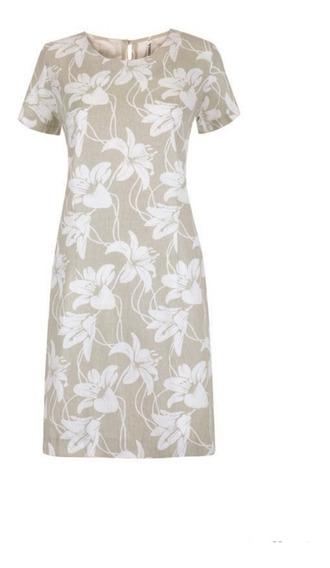 Vestido Beige/ivory 11-470 Rinna Primavera-verano 2020