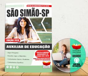 Apostila Concurso 2019 São Simão Agente De Educação