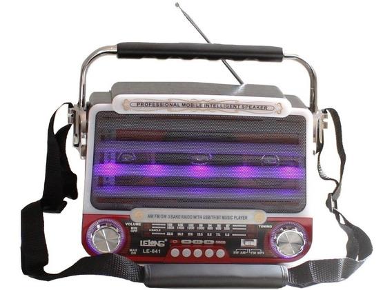 Radio A Bateria E Energia Am/fm/sw/ 3 Bandas Bivolt Pilhas