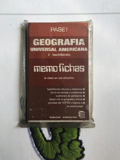 Memofichas Geografia 2 Bachiller 80` Usada