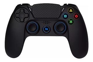 Joystick Netmak Gamepad Ps4 Pc Bluetooth Nm-2075 Vibración