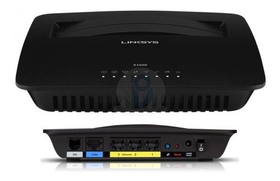 Modem Router Wifi Linksys N300 Port 300mbps