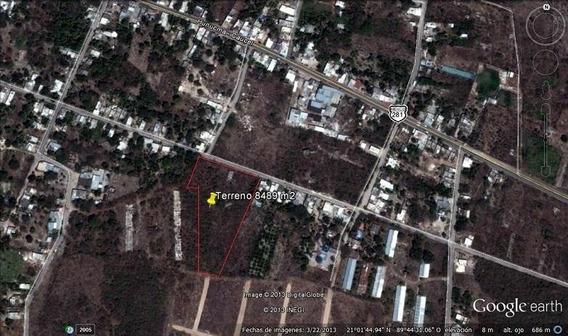 Excelente Oportunidad Para Desarrollo Inmobiliario En Mérida