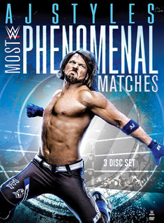 Dvd : Wwe: Aj Styles - Most Phenomenal Matches (3 Pack,...
