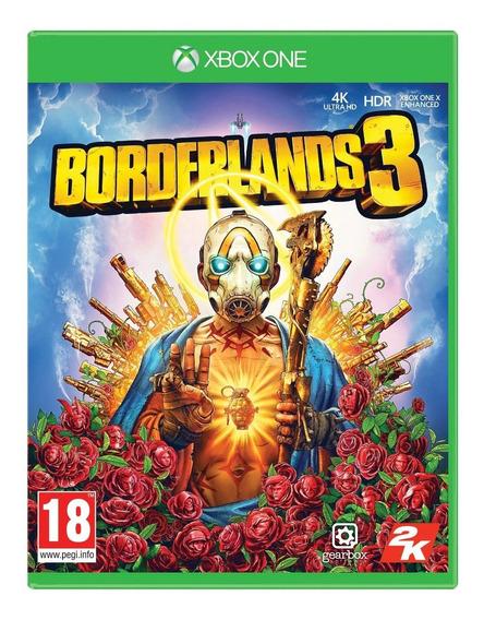 Jogo Borderlands 3 Xbox One Midia Fisica Original Promoção