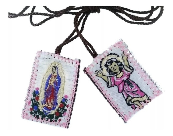 Escapulario Del Divino Niño Jesús (3 Piezas)