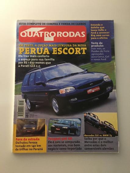 Quatro Rodas 438 Janeiro 1997 Feroza Peugeot 306 Xr Bmw Z3