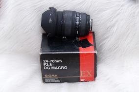 Lente Sigma Para Câmera Nikon Full Frame 24/70