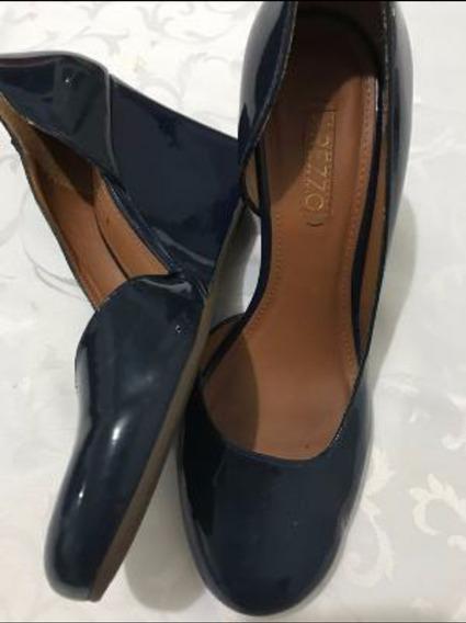 Sapato Arezzo Com Salto Anabela Tam.35