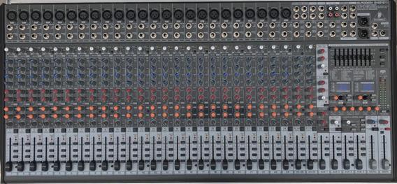 Mesa De Som Behringer Eurodesk Sx3242fx Impecável Com Case