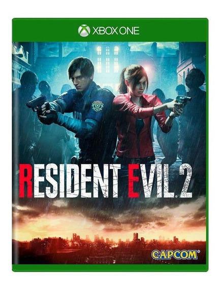 Resident Evil 2 Xbox One Mídia Física Pronta Entrega
