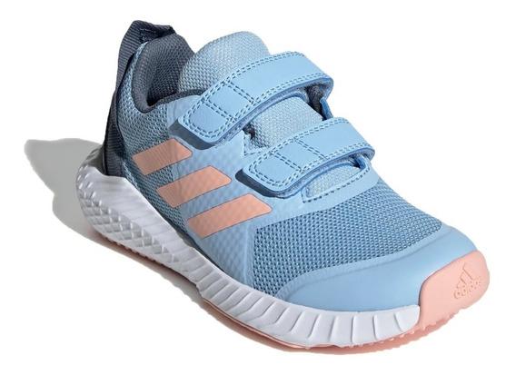 Zapatilla adidas Running Niña Fortagym Celeste - Rosa Ras
