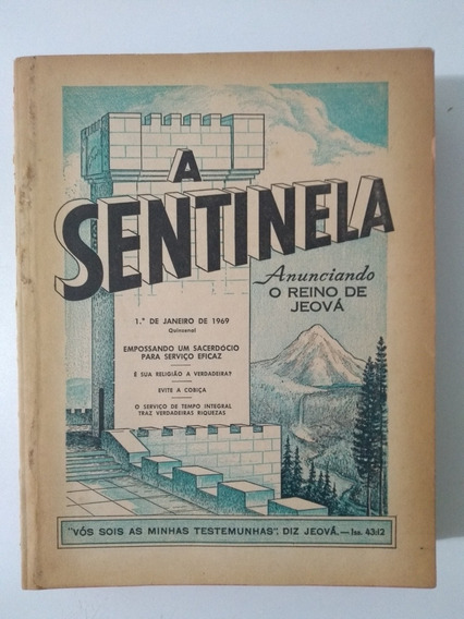 Revistas A Sentinela 1969 Completo Testemunhas De Jeová