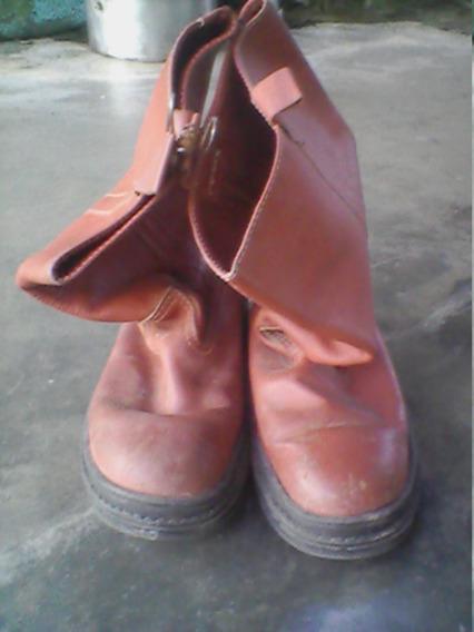 Botas De Cuero De Seguridad Marca Latex