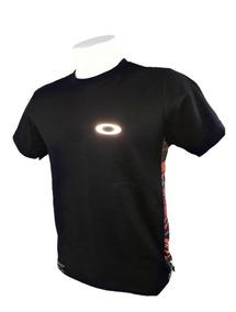 Camisa Camiseta Blusa Oakley Refletivo Olho De Gato Brilha